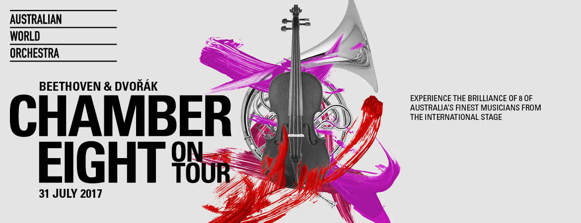 Australian World Orchestra - Chamber Eight on Tour